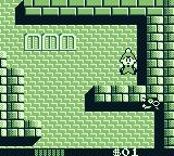 Milon's Secret Castle Game Boy I lost all my energy and died.