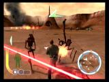 Star Wars: The Clone Wars GameCube Avoid laser fire when on foot!
