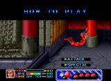 Ninja Combat Neo Geo The game gives you a quick control primer when you start the game.