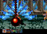 Ninja Combat Neo Geo Musashi's charge attack is fairly impressive.
