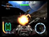 Star Wars: The Clone Wars GameCube Blasting enemy ground forces