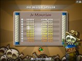 Jewel Jones Windows High score list (demo version)