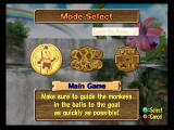 Super Monkey Ball 2 GameCube Choose a game mode