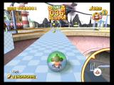 Super Monkey Ball 2 GameCube Collect bananas and reach the goal in the main game