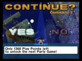 Super Monkey Ball 2 GameCube Game over, do you wish to continue?