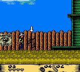 Lucky Luke: Desperado Train Game Boy Color This hotspot may be blown with a bomb