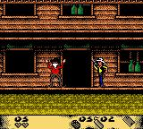 Lucky Luke: Desperado Train Game Boy Color Shooting the bandit
