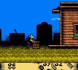 Lucky Luke: Desperado Train Game Boy Color Moving the crate