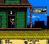 Lucky Luke: Desperado Train Game Boy Color Level was finished