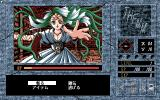 Themm: Haruka Naru Meikyū PC-98 Fighting a random enemy: before...