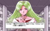 Crystal Rinal PC-98 Talking to a ghost, who doesn't like being called that