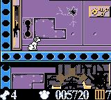 Disney's 102 Dalmatians: Puppies to the Rescue Game Boy Color If you don't move for a little bit, the puppy will sit down.