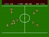 Soccer NES A game in progress