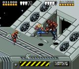 Battletoads & Double Dragon: The Ultimate Team SNES First level boss