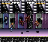 Battletoads & Double Dragon: The Ultimate Team SNES Level 7 is a short trip to meet the Dark Queen