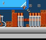 Chip 'N Dale: Rescue Rangers NES In a science lab