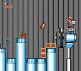 Chip 'N Dale: Rescue Rangers NES Forceful fans and pelicans