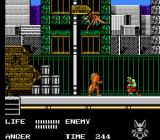 Werewolf: The Last Warrior NES Making it in a tough city