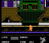 Werewolf: The Last Warrior NES Down to the sewer