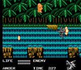 Werewolf: The Last Warrior NES Level 4-- the thick forest