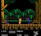 "Werewolf: The Last Warrior NES Enemies exclaim ""OH!"""