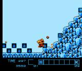 Karnov NES Stage 4, a frosty-themed level