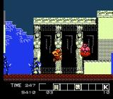 Karnov NES Stage 5 temple