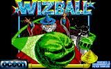 Wizball Amiga Title screen