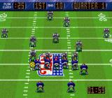 NFL Quarterback Club SNES On defense