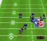 NFL Quarterback Club SNES An incomplete pass