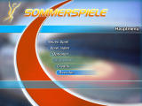 Sommerspiele Windows Main menu (demo version)