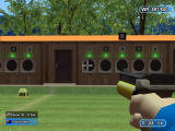 Sommerspiele Windows Shooting targets in a limited timer while the cursor wobbles (demo version)
