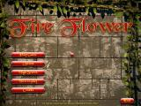 Fire Flower Windows Title and main menu