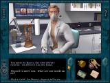 Nancy Drew: Secret of the Scarlet Hand Windows Henrik van der Hune in the lab
