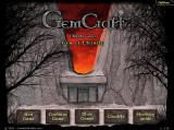 GemCraft: Chapter Zero - Gem of Eternity Browser Main menu