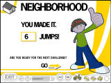GapKids Adventure Windows Successfully completed the neighborhood course