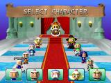 Bomberman World PlayStation Avatar selection in battle mode
