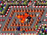 Bomberman World PlayStation Traffic cones arena