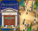 Alexander: The Heroes Hour Windows Main menu (demo version)