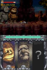 Where the Wild Things Are Nintendo DS Areas Max has once completed will undergo cool palette-shifts when revisited.
