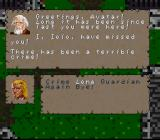 Ultima: The Black Gate SNES Talking to the stupid Iolo ;)