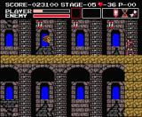Vampire Killer MSX Stage 5: you gotta hate Medusa heads!