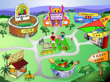 5 A Day Adventures Windows The game map
