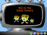 5 A Day Adventures Windows The Salad Sisters in the Salad Factory
