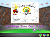 5 A Day Adventures Windows Certificate of completion