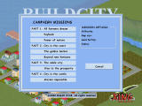Build City Windows Select from among the campaign missions
