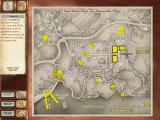 Agatha Christie: Dead Man's Folly Windows The city map, you can search for the hidden objects on yellowed locations.