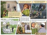 Agatha Christie: Dead Man's Folly Windows One of in-game comics