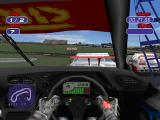 Jarrett & Labonte Stock Car Racing PlayStation Cockpit view