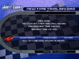 Jarrett & Labonte Stock Car Racing PlayStation Time trial record